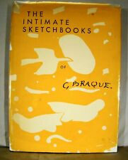 Grohmann Tudal Intimate Sketchbooks of G. Braque U. S. First 1955 of Verve 31-32