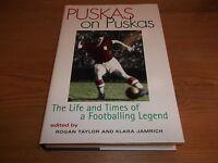 Book. Football. Puskas on Puskas. Life & Times of a Footballing Legend. 1st 1997