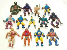 He-man Lot of 13 Vintage Motu Action Figures Masters of the Universe Mattel 80's