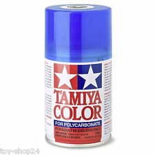 TAMIYA PS-39 100ml (l/69,00 € incl. Iva) Traslucida Blu chiaro Polycar. # 86039