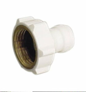 """Garden Laundry 3/4"""" female hose adapter valve 1/4"""" quick connect RO DI System"""