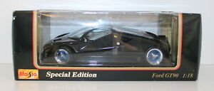 MAISTO 1/18 - 31827 FORD GT90 - BLACK