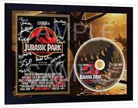 JURASSIC PARK 1 Movie TV SIGNED FRAMED PHOTO AND DVD Disc