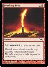 SEETHING SONG Mirrodin MTG Red Instant Com