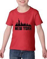New York City  Heavy Cotton Toddler Kids T-Shirt Tee
