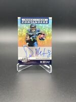 DK Metcalf 2019 Panini Contender Optics Rookie of the Year Auto Silver #/125