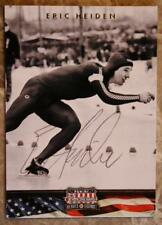 1980 Olympic Speed Skating Champ Eric Heiden signed/autographed 2012 Panini Card