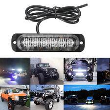 Ultra Slim 6LED Strip Work Light Bar Driving Fog Lamp White For Car SUV Van UTV