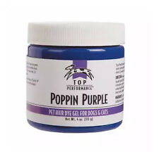Top Performance Hair Dye Gel for Dogs, 4oz POPPIN PURPLE