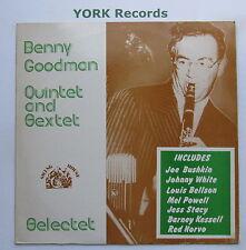 BENNY GOODMAN QUINTET & SEXTET - Selectet - Ex Con LP Record Swing House SWH-17