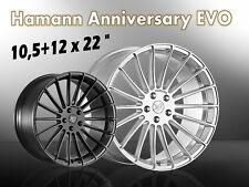 Hamann 10,5+12 x 22 Zoll Alufelgen BMW X5 X6 MHE Felgencenter Oberberg NEUHEIT