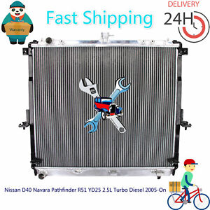 Radiator for Nissan D40 Navara Pathfinder YD25 2.5L Turbo Diesel 2005-On MT Thai