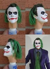 1/4 Scale figure custom The Joker head sculpt Hot Toys Enterbay compatible H9
