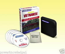 NEW 5 CD Pimsleur Learn to Speak Basic Vietnamese Language