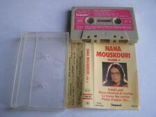 K7 cassette audio tape nana mouskouri volume 4