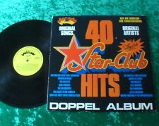2 LP 40 STAR CLUB HITS (sampler con Beatles) (Made in Holland on Label) Star Club