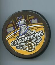 RICH PEVERLEY SIGNED BOSTON BRUINS 2011 STANLEY CUP CHAMPS HOCKEY PUCK w/ COA