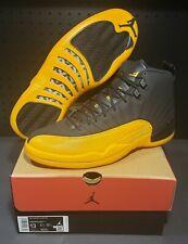 Nike Air Jordan 12 Retro Men's Size 13 Black University Gold 130690 070