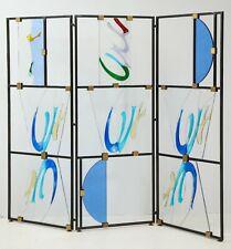 Italian Murano glass screen by Alberto Toini, Italy