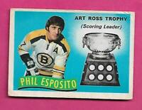1971-72 OPC # 247 BRUINS PHIL ESPOSITO TROPHY GOOD CARD  (INV# C8499)