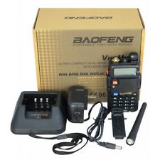 Baofeng Uv-5r Ricetrasmettitore portatile bibanda 5 W VHF UHF