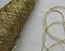 Vin. Gold Metallic Glitter Thread/String  3 Strand Strong French