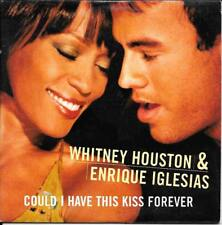CD SINGLE--WHITNEY HOUSTON & ENRIQUE IGLESIAS--COULD I HAVE THIS KISS FOREVER