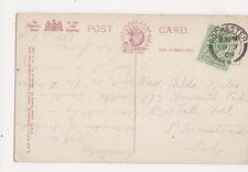 Miss Hilda Wells Howarth Road Bostall Hill Plumstead SE London 1909  301a