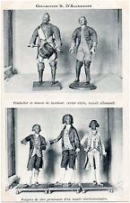 CPA Collection H. D'ALLEMAGNE + Joueur de tambour + Personnages révolutionnaires