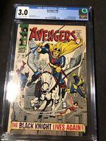 Avengers #48 1968 Marvel Comics CGC 3.0 1st Dane Whitman Black Knight Eternals