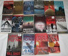 16 Vince Flynn Novels Mitch Rapp 1-15 + Term Limits Paperback Lot