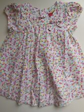 SPROUT BABY INFANT GIRL COTTON FLORAL DRESS SIZE 00 FITS 3-6M