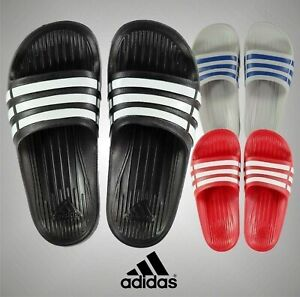 Boys Adidas Lightweight Duramo Slide Pool Swimming Sizes UK from C10 to 2