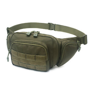 US Tactical Ultimate Fanny Pack Holster Concealed Carry Pistol Pouch Waist Bag