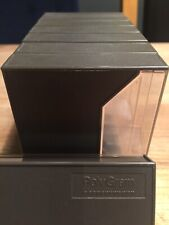 Polygram Cassette Tape Grey / Clear Case X 8