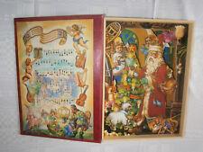 Spieluhr - Musikalisches Buch,aufklappbar,Weihnachten-Figuren bewegen sich Top
