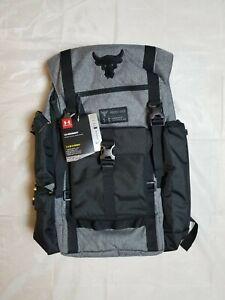 Under Armour 1325331-040 UA Project Rock Vanish Regiment Backpack -  Grey