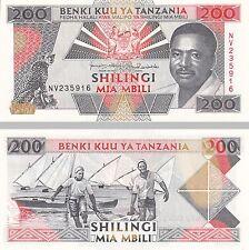 Tanzania/Tanzania 200 Shilingi 1993 p25b unz.