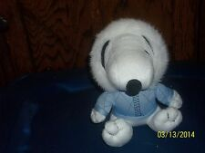 METLIFE SNOOPY BEAGLE PUPPY DOG ESKIMO IN BLUE PARKA PLUSH