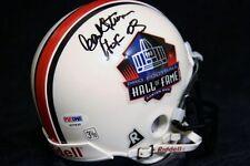 Hank Stram Signed Hall of Fame HOF Mini Helmet PSA/DNA KC Chiefs Dallas Texans