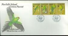 Norfolk Island Wwf 1987 First Day Cover As Shown