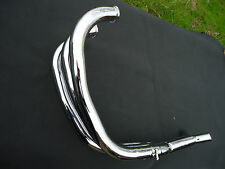 LAVERDA 38mm LARGE BORE DOWN PIPES/COLLECTOR 1000/1200 (NEW)