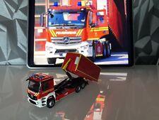 MB Actros WLF mit AB-Rüstmaterial Feuerwehr München Eigenbau Umbau