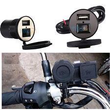 Motorbike USB Motorcycle Mobile Phone Power Charger Port Socket 12V