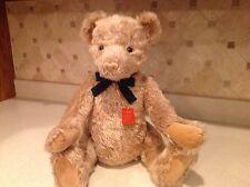 GUND Mohair Teddy Bear Spencer Limited Edition 181/500 Genuine Mohair Very Nice
