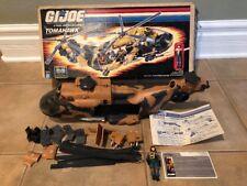 K1701023 TOMAHAWK W BOX 1986 GI JOE G.I.JOE ARAH VINTAGE Lift Ticket