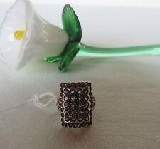 Damen Ring 925 Silber mit Amethyst Ø 18 mm