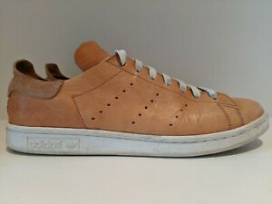 adidas Stan Smith PC Horween Leather Tan Chicago Size 10.5 Q16513