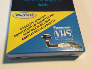 NEW  VHS-C to VHS Motorized Cassette Adapter JVC,RCA,Panasonic 🔥