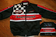 Big Daddy Don Garlits Adamstand Work Benches Hot Rod Racing Jacket Men's Medium